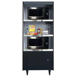 All State AS273-N/L Condiment Stand No Light
