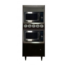 All State AS272-5-MT-N/L Condiment Stand No Light