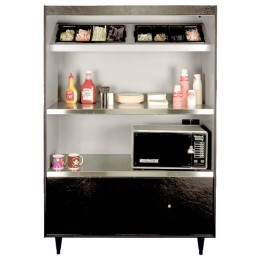 All State AS492-4-HT2 N/L Condiment Stand No Light