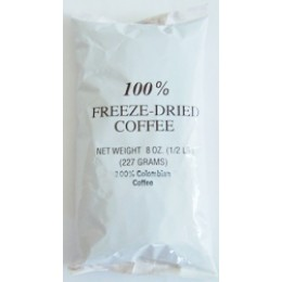 Colombian Freeze Dried Coffee 12 - 8oz Bags
