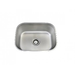 Amerisink AS106 Deluxe Line Undermount Stainless Steel Single Sink