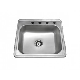 Amerisink AS110 Builder Line Top Mount Stainless Steel Sink