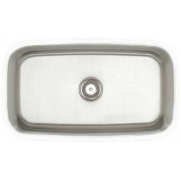 Amerisink AS112 Deluxe Line Undermount Stainless Steel Single Sink