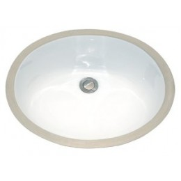 Amerisink AS202 Undermount Porcelain Bathroom Sink White