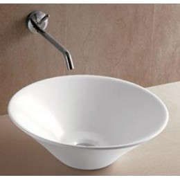 Amerisink AS 206 Porcelain Vessel Bathroom Sink White