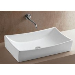 Amerisink AS 212 Rectangular Art Basin Bathroom Sink White