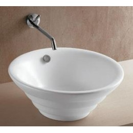 Amerisink AS213 Round Art Basin Bathroom Sink White