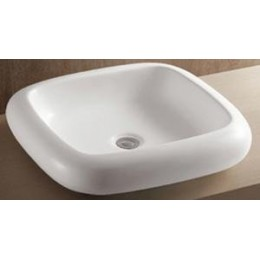 Amerisink AS219 Porcelain Vessel Bathroom Sink White