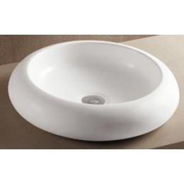 Amerisink AS220 Porcelain Vessel Bathroom Sink White