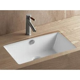 Amerisink AS223 Under Mount Porcelain Bathroom Sink White