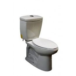 Amerisink AS405 High Efficiency Dual Flush Toilet White