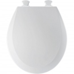 Amerisink AS406S Round Toilet Seat Biscuit