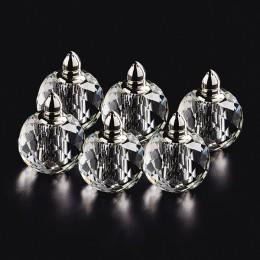 Badash Crystal H157 Zendra 6 pc Individual Salt and Pepper Set