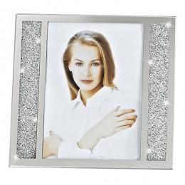 Badash Crystal SU385 Lucern Crystallized Picture Frame 8 x 10 inch