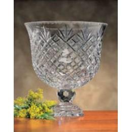 Badash Crystal Ped Bowl 12
