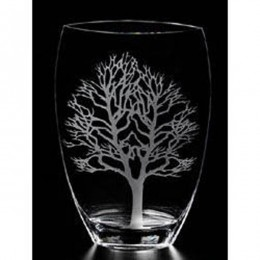 Badash CD827 Crystal Olive Tree of Life Vase