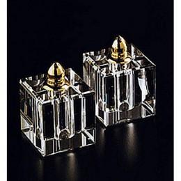Badash Crystal Vitality Gold Salt and Pepper