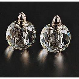 Badash Crystal Zendra Platinum Salt and Pepper