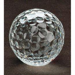 Badash Crystal Golf Ball Paperweight