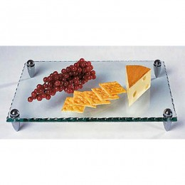Badash Crystal Mercury Rectangular Tray