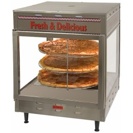 Benchmark 51018 Pizza/Pretzel Humidified Warmer Display 18
