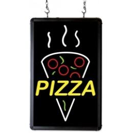 Benchmark USA Ultra-Bright Merchandising Sign Pizza