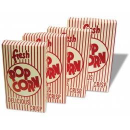 Benchmark 41563 USA 1.25oz Closed Top Popcorn Boxes 100/CS