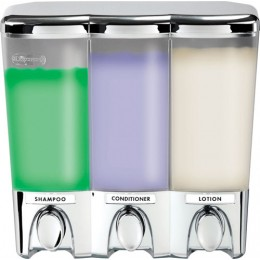 Better Living 72344 Clear Choice Dispenser III Chrome