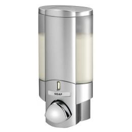 Better Living Aviva Dispenser I Locking Lid Satin Silver