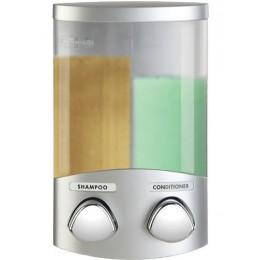 Better Living Duo Dispenser Satin Silver
