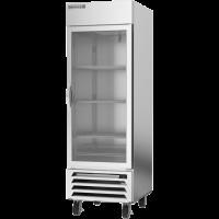 Beverage Air HBR23HC-1-G Horizon Series Bottom Mount Reach-In Refrigerator, 23 cu. ft., Right-Hand Hinges, Glass Door