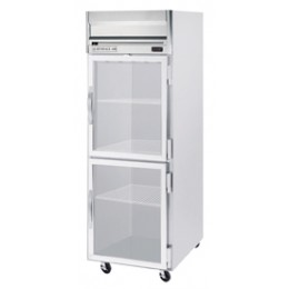 Beverage Air HRPS1-1HG Horizon Series Half-Glass Door Refrigerator, 24 cu. ft.
