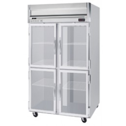 Beverage Air HRS2-1HG Horizon Series Half-Glass Door Refrigerator, 49 cu. ft.