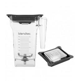 Blendtec 40-609-60 Clear FourSide Jar with Vented Gripper Lid