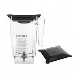 Blendtec 40-630-62 Clear WildSidePlus Jar with Hard Lid