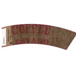 BriteVision Estado 12-20 Oz. Insulating Hot Cup Coffee Sleeve 1200/CS