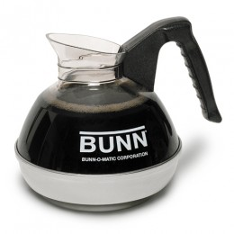 Bunn Easy Pour Coffee Decanter-Handle-Stainless Steel Bottom - 64 oz.