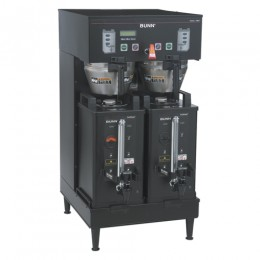 Bunn 33500.0004 BrewWISE SH DBC Soft Heat Dual Brewer Upper Faucet Black 120/240