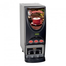 Bunn iMIX-3 SST Powdered Cappuccino Dispenser with 3 Hoppers - 120V