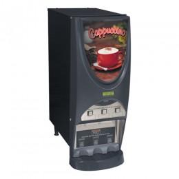 Bunn iMIX-3S BLK Powdered Cappuccino Dispenser w/ 3 Hoppers 120V