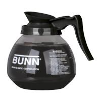 Bunn Glass Decanter 64 oz Black  3/CS