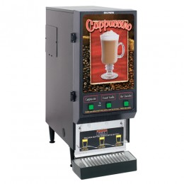 Bunn FMD-3 BLK Fresh Mix Cappuccino-Espresso Machine 3 Hoppers 120V