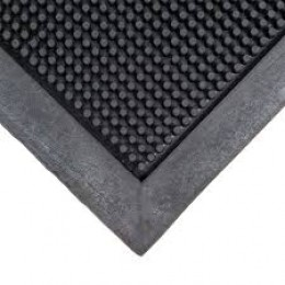 Cactus Mat 35-2432 35 Fingertop Scraper Mat Black 24