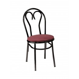 Carroll Chair 2-107 GR1 Sweetheart Back Dining and Cafe Chair