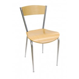 Carroll Chair 2-176 GR1 Wooden Back with Tabs Chair