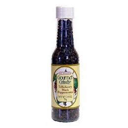 Chef Specialties 00502 Tellicherry Black Peppercorns 79g Bottle 12/CS