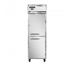 Continental 1F-HD Half Door Reach In Freezer 26