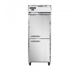 Continental 1FE-PT-HD Half Door Extra Wide Pass Through Freezer 29
