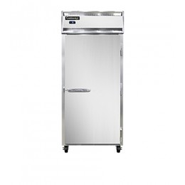 Continental 1FX-SA-PT Stainless Steel Exterior Extra Wide Pass Through Freezer 29