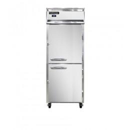 Continental 1RE-PT-HD Half Door Extra Wide Pass Through Refrigerator 29